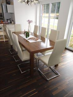 Eßtisch Nussholz 280 mal 110 cm Conference Room, Dining Table, Furniture, Home Decor, Dinning Table Set, Wood, Essen, Nice Asses, Homemade Home Decor