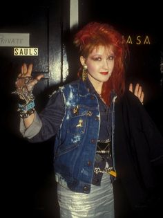 80s Pop Stars - Cindy Lauper