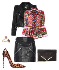"""""""Без названия #460"""" by my-lovely-life ❤ liked on Polyvore featuring Vetements, Dolce&Gabbana, Bayco, La Regale, Alexander Wang and Christian Louboutin"""