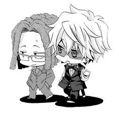 Tom Tanaka and Shizuo Heiwajima #minidura #chibi
