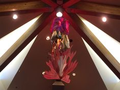 3D Pentecost mobile designed by our Worship leader