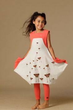 Bianca Butterfly Dress (Toddler, Little Girls, & Big Girls) by KidCuteTure on @HauteLook