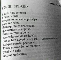 Sonríe, Princesa 👸