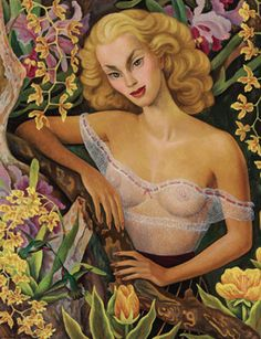 Diego Rivera, Portrait of Linda Christian. Oil on canvas, 44 x 35 ⅝ in. (111.7 x 90.5 cm.). Painted in 1947. Estimate: $250,000-350,000. Photo: Christie's Images Ltd 2012.