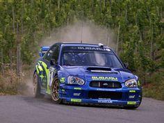 Subaru Impreza 2003 WRC Petter Solberg #motorsport #racing #rallye #car #motor #passion #sport