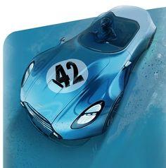 Mini car design sketching