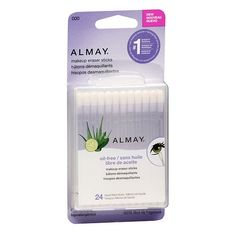 Almay Makeup Eraser Sticks, Liquid Filled Sticks 24 ea (Pack of - Care - Skin care , beauty ideas and skin care tips Corrector Makeup, Almay Makeup, Fix Makeup, Makeup Tips, Cheap Makeup, Eye Make-up Remover, Makeup Remover, New Year's Eve Looks, Makeup Eraser