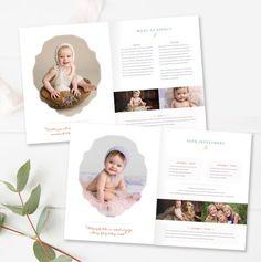 Lifestyle Photography Magazine Template, Photo Marketing Templates ...