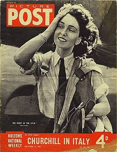 Picture Post - 16 September 1942 - Front Cover - Air Transport Auxiliary (ATA) First Officer Maureen Dunlop - Maureen Dunlop de Popp - Wikipedia, the free encyclopedia Southampton, Norfolk, Female Pilot, Hair And Makeup Artist, Women In History, Ww2 History, World War Two, Role Models, Wwii