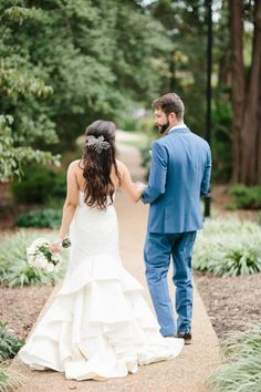 Rustic Romance at Virginia Wedding from Abby Grace photography - bride and groom