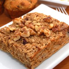 Sweet Pea's Kitchen » Baked Apple Walnut Oatmeal