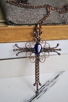 Cross by twistedjewelry.deviantart.com on @deviantART