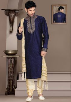 #Blue #Kurta with Churidar @ $68.00