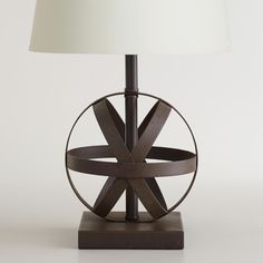 Metal Orb Accent Lamp Base | World Market