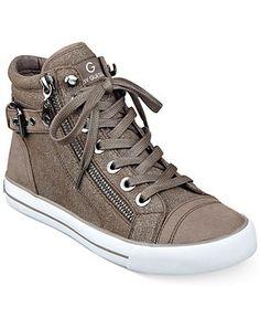 e9b877a5d041 G by GUESS Women s Olama High Top Sneakers Shoes - Macy s