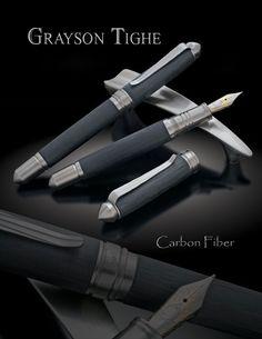 Grayson Tighe Carbon Fiber Fountain Pen