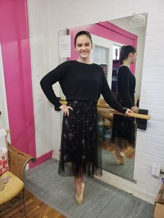 A young dancer from Blacksburg, Va. chose Siberian Swan to start her 2019 off! She is a student at Westover Ballet in Christiansburg, Va. A stunning new look for her! Pointe Shoes, Swan, New Look, Lace Skirt, Dancer, Ballet, Student, Skirts, Pink