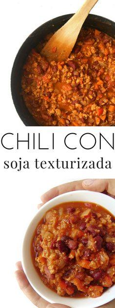 Vegetarian Comfort Food, Vegan Vegetarian, Vegan Desserts, Vegan Recipes, Vegan Chili, Vegan Meal Plans, Plant Based Diet, Chili Recipes, Vegetarian Recipes