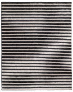 Hand-Knotted Awning Stripe Flatweave Outdoor Rug | Restoration Hardware