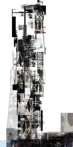 drawingarchitecture:    Chicago ExpoHigh rise   Speculating on Cultures at the Edge of Destruction.  Mary Alejandra Alvarez