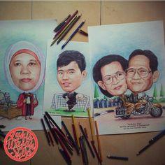 Jasa Karikatur Online | Art caricature