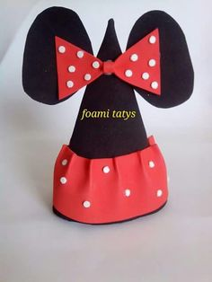 Gorro fiesta minnie mouse