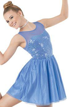 Illusion Sweetheart Sequin Dress   Balera™