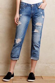 Paige Jimmy Jimmy Crop Jeans #Anthropologie