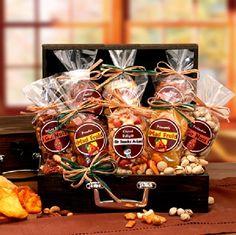 Gourmet Gift Gourmet Fruit & Nut Chest Gift Basket