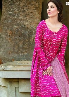 Dress salwar kameez - Beautiful pink dress pushkar fashion industry buy for contact in whole sale prices, www indiamartstore com Bandhani Dress, Salwar Dress, Anarkali, Salwar Kurta, Sharara, Salwar Designs, Dress Neck Designs, Blouse Designs, Look Fashion