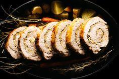 Fennel Rosemary Apple Brown Sugar Pork Tenderloin