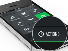 UI Designs Elements - Dark iconic buttons
