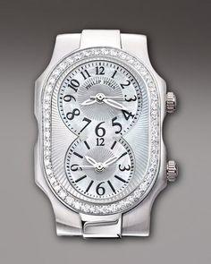 ShopStyle: Philip Stein Teslar Small Signature Diamond Watch Head