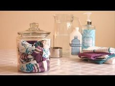 DIY All Purpose Cleaning Wipes - YouTube