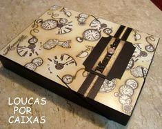Coletâneadas minhas peças preferidas das artesãs Marina e Eneida ( Loucas por caixas )                                                    ...