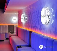 Nightclub Design Ideas las vegas club events Nightclub Design By Inoutstudio View Of The Vip Area With Inox Cubes Integrated On