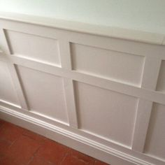 DIY MDF Decorative Wall Panelling Panels - Shabby Chic - Country Living Interior