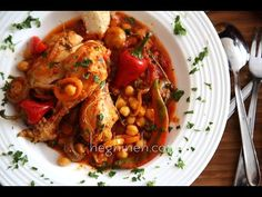 Chicken and Mushrooms Recipe - I haven't made this exact same dish before, but thought I can figure out something quick, easy and delicious if I want to, anyone can do that of course. And since many of us Armenians cook exactly this way, meaning : without any specific recipe, as long as we have the right ingredients on hand, foods that taste wise will go together well.......| heghineh.com