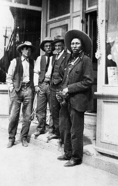 Cowboys in Gleichen by glenbowmuseum, via Flickr