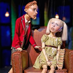 Penny Plain (Ronnie Burkett Theatre of Marionettes (Canada); photo by Trudie Lee)