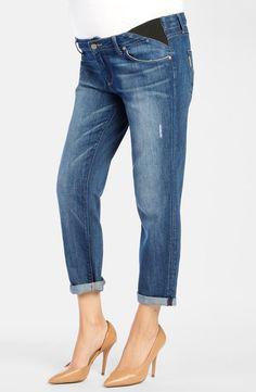 769e9d38516b7 Paige Denim 'Jimmy Jimmy' Straight Leg Crop Maternity Jeans (Penelope) http: