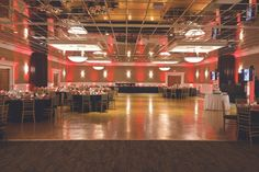 A Wedding Reception held in our Grand Ballroom with seating for 150 guests using Chiavari Chairs.