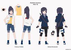 in Boruto movie hehe Kuraku and Kiyoi Naruto Shippudden, Sasuke X Naruto, Naruto Girls, Anime Oc, Fanarts Anime, Otaku Anime, Naruto Images, Naruto Pictures, Naruto Oc Characters