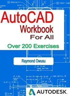 AutoCAD Workbook packed with over 200 exercises to enable you practice untill you become an expert. The book does not contain any text, just pure exercises to enable you practice and practice. Get a copy today. Civil Engineering Handbook, Civil Engineering Books, Electrical Engineering Books, Autodesk Software, Cnc Software, Photoshop Book, Autocad 2015, Learn Autocad, Mechanical Engineering Design