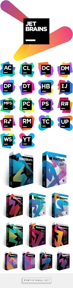 Brand New: New Logo(s) for Jetbrains... - a grouped images picture - Pin Them All