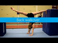 Skills & Drills: Using blocks for back walkovers! - YouTube
