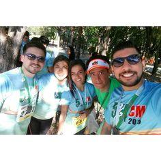 Hoy corrí con amigos. #reto12medallas #medalla10 #YaMeroAcabo #runners #run #running #5kCM #cuahtemocmoctezuma