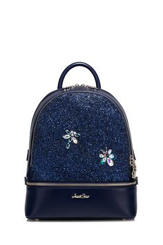 Insect Sequins Panel Backpack