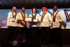 The felicitation ceremony at the 6th IFCA International Chefs Conference 2015. #IFCA2015 #ITCGrandChola #Chennai #chefs #cook #recipes #ITC #Chennai #foodart #chefsart #finedining #chefsmeet #conference #culinary #chefstalk #kitchen #professionals #restaurants #foodculture #foodfest