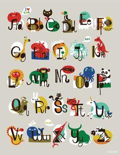 Helen Dardik alphabet